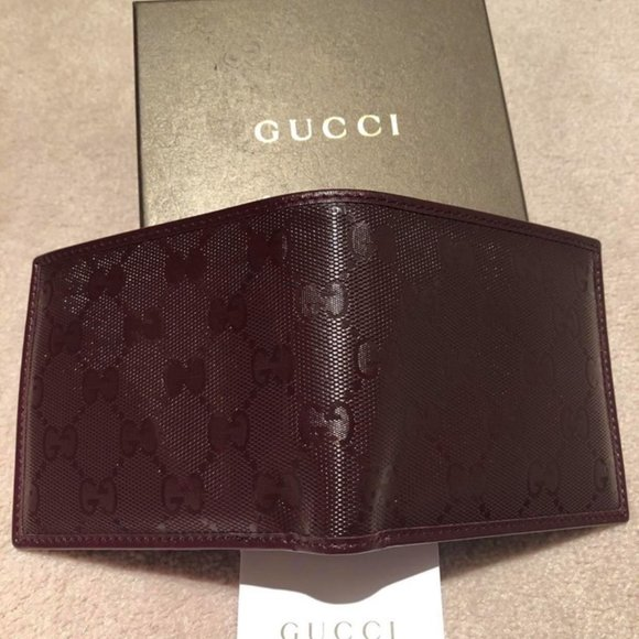 authentic brand new Gucci guccisima wallet